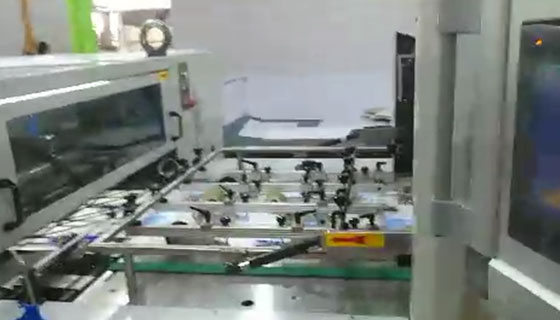 800 Die-cutting machine Video